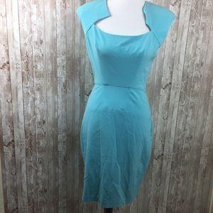Boston Proper Blue Dress Size 4